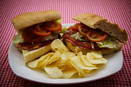 Belmiro's Pizza & Subs: Frank Sinatra Sub (Ham & Cheese) You can do it your way