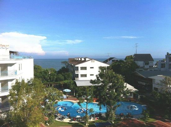 Cera Resort Chaam : Udsigt fra vores værelse