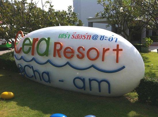Cera Resort Chaam : Indgang til hotellet