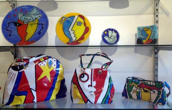 Taormina Glass Gallery: Collezione borse e piatti 2013