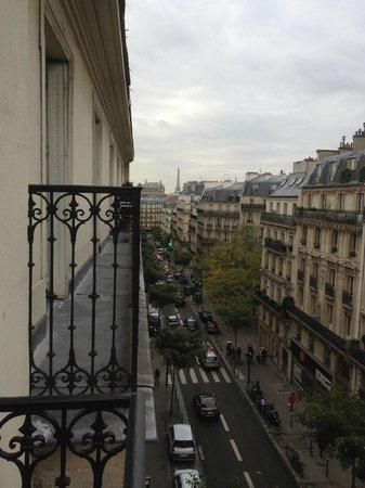 Hôtel Palm - Astotel : petit balcon