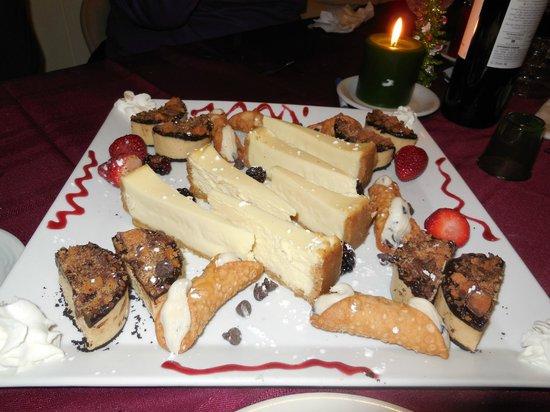La Dolce Vita Manteo: Dessert selection