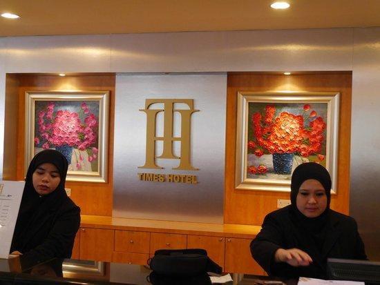 Times Hotel : Reception 1