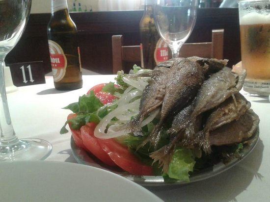 Hotel Martinez: pescado