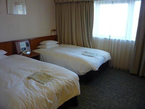 Hearton Hotel Nishi Umeda : ツインルーム