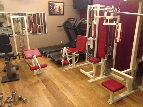 Hotel Hellsten : Weight room