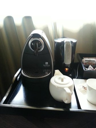 African Pride Mount Grace Country House & Spa: Complimentary Nespresso