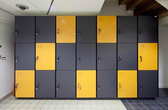 easyHotel Rotterdam City Centre : Bagagekluisjes