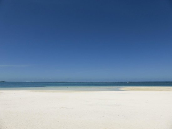 LUX* Belle Mare: White powder sand beach - it really is paradise!