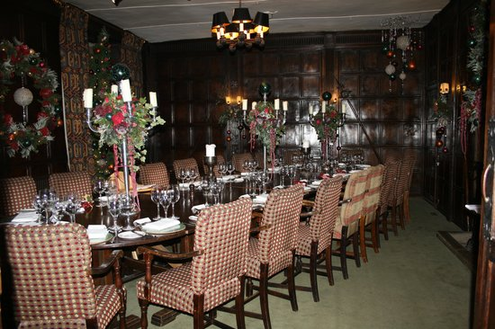 The George Hotel Restaurant: The Dining Room