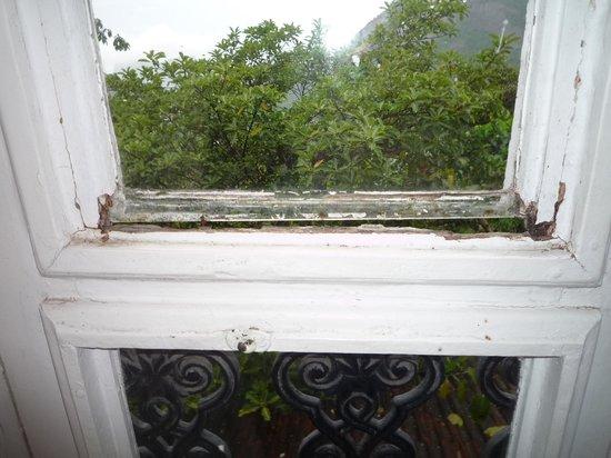 Altos de Santa Teresa: vue d'une fenêtre