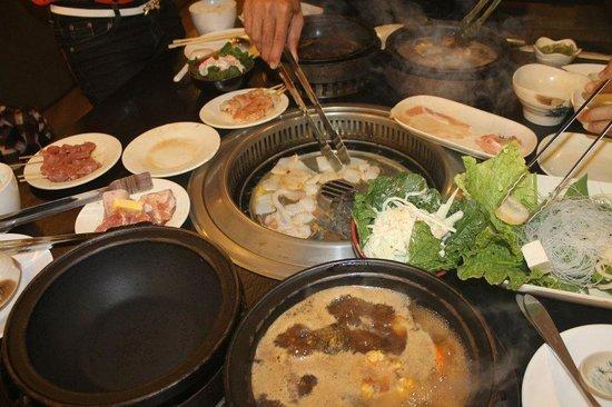 Tong Yang Shabu-Shabu Restaurant: smokeless grill