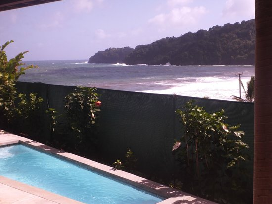 Pagua Bay House Oceanfront Cabanas: View our room