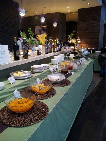 Citadines Central Shinjuku Tokyo: Buffet breakfast  Nov 13