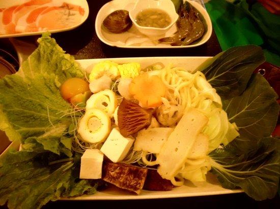 Tong Yang Shabu-Shabu Restaurant: ready for cooking