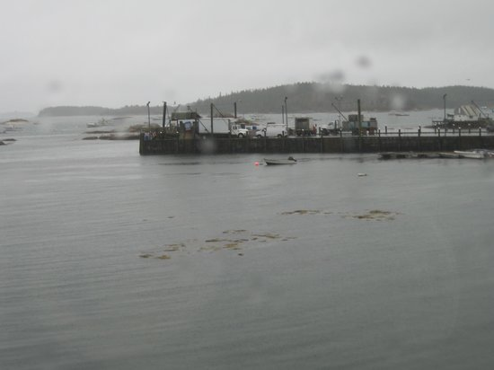 Inn on the Harbor: View of the commercial fishing pier