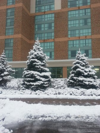 Courtyard by Marriott Niagara Falls: Winter time at the Marriott
