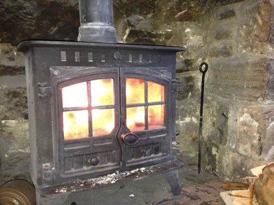 Devonshire Arms: Log Burning Stove