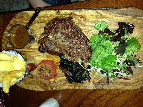 Devonshire Arms: Rare Breed Steak