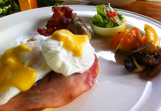 Luwak Ubud Villas: Breakfast