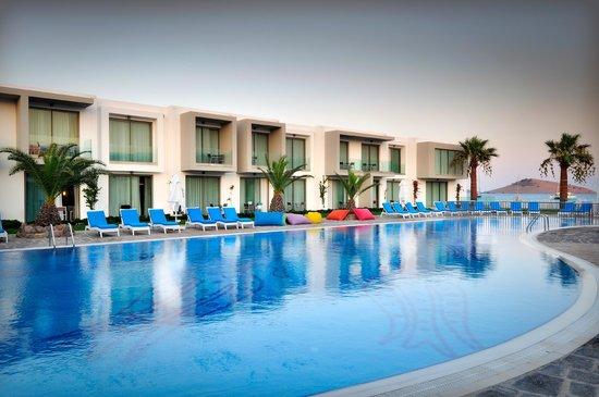 Lugga beach boutique hotel ortakent turquie voir les for Boutique hotel turquie