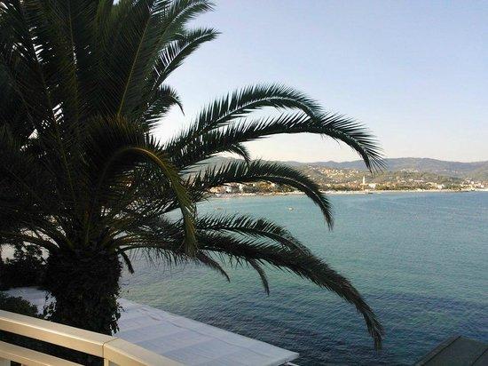 Hotel Arc en Ciel: Vista sul golfo di Diano Marina
