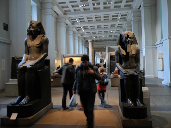 British Museum: Egyptian section