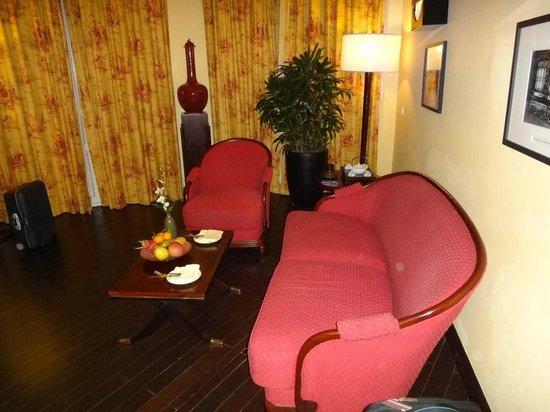 La Residence Hue Hotel & Spa : Sitzgurppe