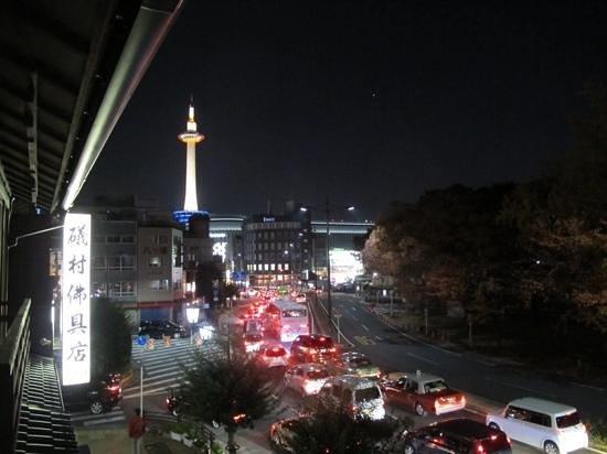Hokkaikan Ohanabo : room view (kyoto tower)