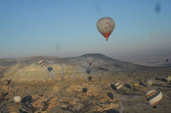 Goreme Balloons : views