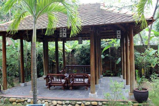 Pilgrimage Village : un pavillon de repos