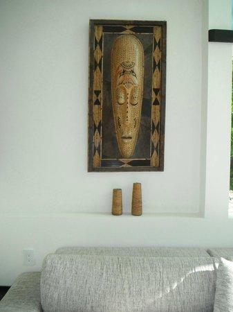 Playa Caribe B&B: upstairs common lounge area