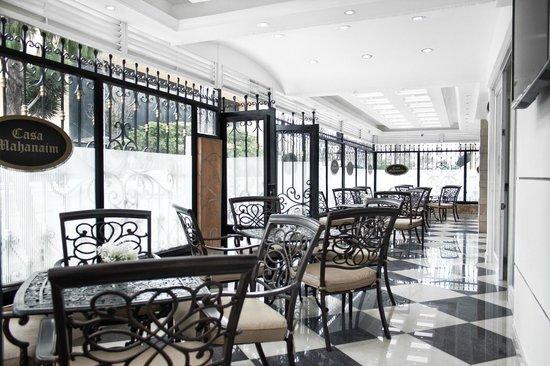Terraza De Comidas Picture Of Hotel Casa Mahanaim Bogota