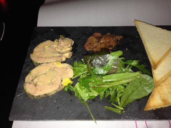 BEST WESTERN PLUS Design & Spa Bassin D'Arcachon : Foie gras et figues et Confit oignon