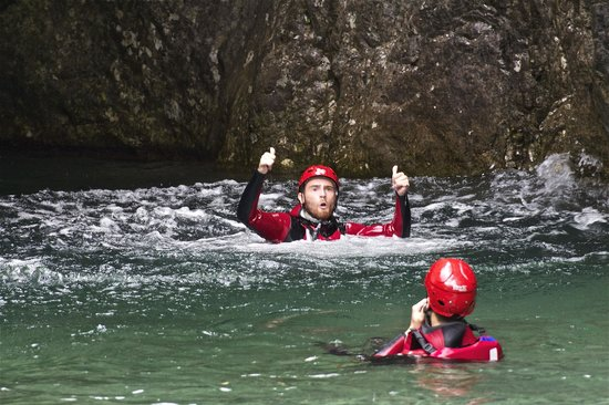 Mountain Live, canyoning in Trentino: palvico numero 1