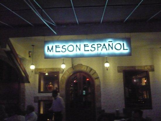 Meson Espanol: Nice place