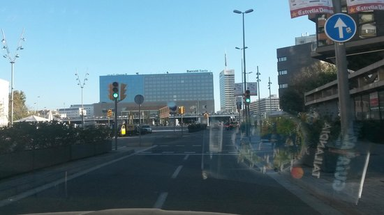 Barcelo Sants : Arriving to the hotel