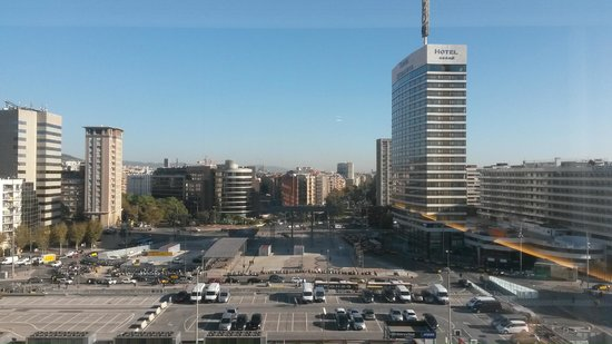 Barcelo Sants : The view from my room