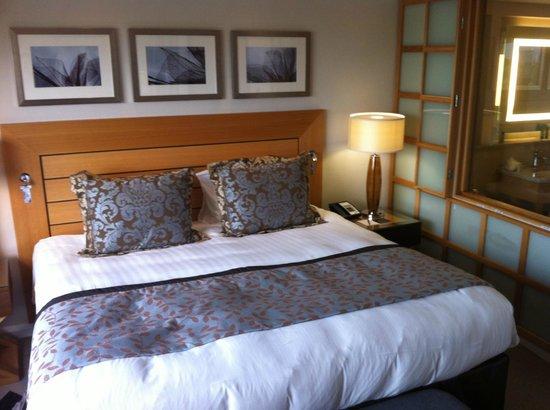 London Hilton on Park Lane: Comfy bed