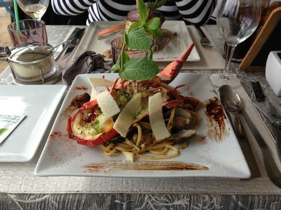 Aux Enfants Terribles : Seafood Pasta