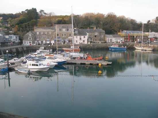 Old Custom House Inn: Padstow quay from room 5