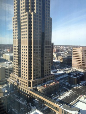 Des Moines Marriott Downtown : View from room