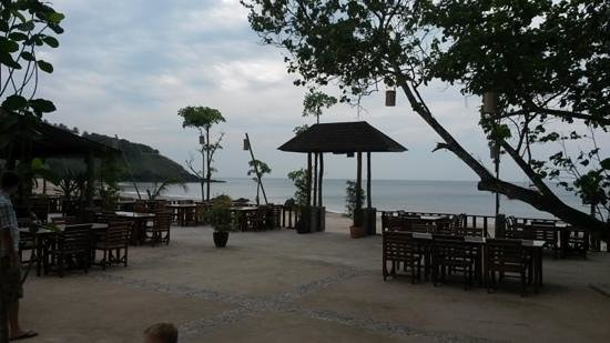 Anda Lanta Resort: het restaurant