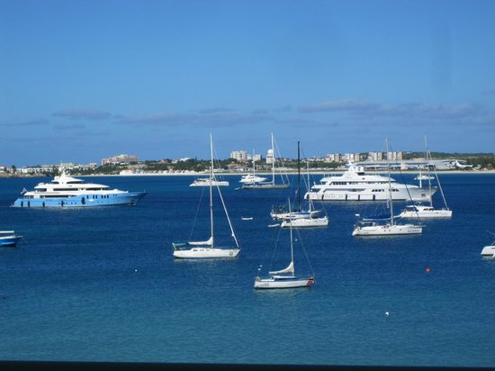 The Villas at Simpson Bay Resort & Marina: View from 512A balcony