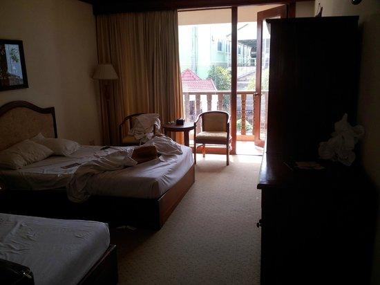 New Angkorland Hotel: camera due single bed