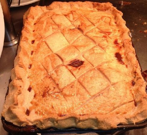Clocktower: Our delicious pie