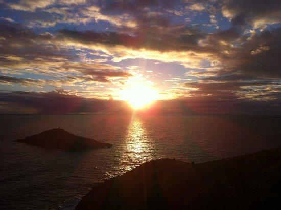 Pousada Sentinelas do Mar: Pôr do sol