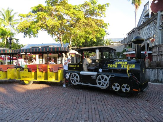 Conch Tour Train: This is the train we took with Kenny.