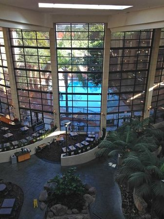 Embassy Suites by Hilton Hotel Phoenix Biltmore: Looking out toward the pool