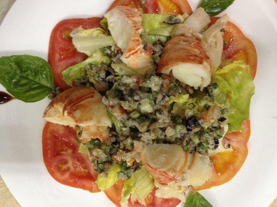 Cote Sud: Salade de langoustes / lobsters'salad